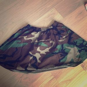 Army Circle Skirt - Urban Outfitters
